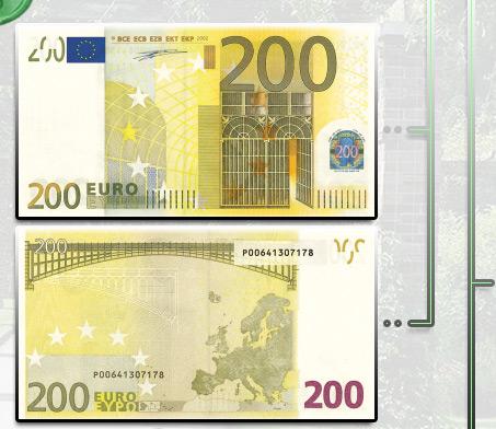 Банкнота 200 евро
